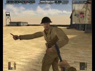 Battlefield 1942(три придурка и самолёты)